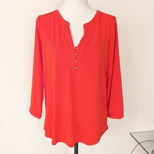 DANA BUCHMAN | Large red top